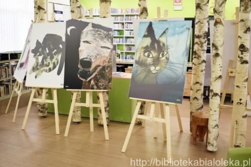 Otwarcie wystawy ilustracji Józefa Wilkonia i spotkanie z Martą Lipczyńską-Gil