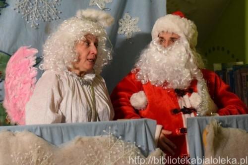 Wizyta św. Mikołaja 19 grudnia Biblioteka Zielona